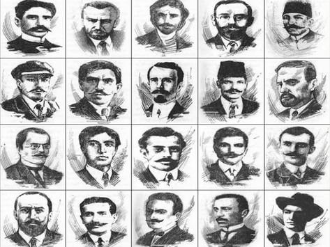 El ejemplo de los veinte revolucionarios hnchakian