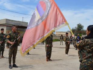 """Batallón armenio en Rojava: """"El Estado turco es un experto en genocidio, masacre, robo y saqueo"""""""