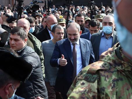 La crisis política se acentúa en Armenia