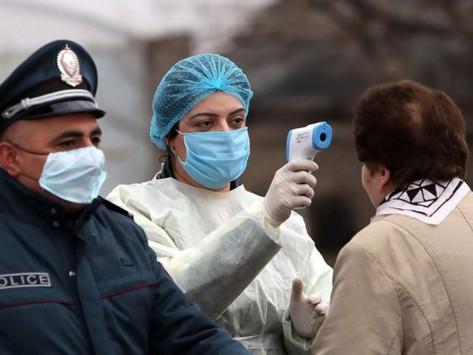 Récord de casos de coronavirus en Armenia