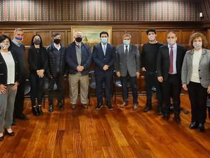 El Embajador de Armenia recibió a periodistas comunitarios