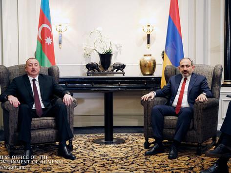 Aliyev dijo que Azerbaiyán está lista para iniciar las conversaciones de paz con Armenia