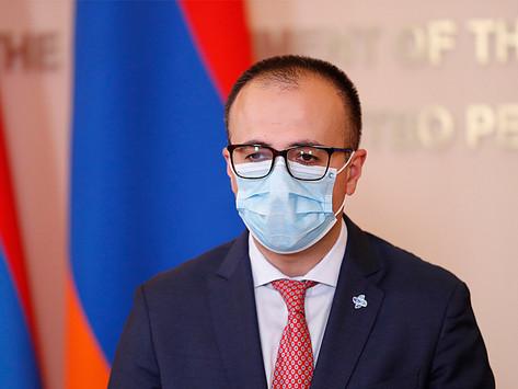 Casi 30 mil casos de coronavirus en Armenia