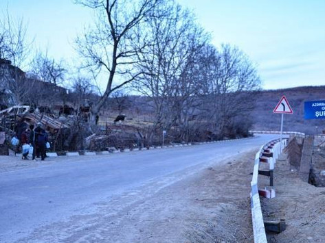 Las Fuerzas de Azerbaiyán desocuparon las rutas que habían bloqueado en Armenia
