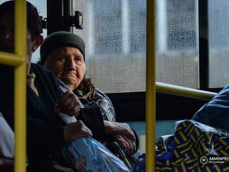 Más de cincuenta mil refugiados regresaron a Artsaj