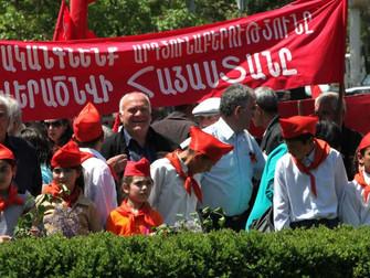 Los comunistas armenios recordaron el 105° aniversario del genocidio