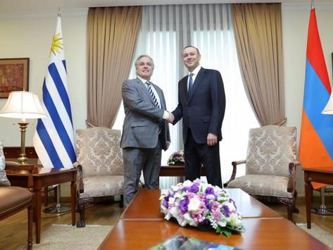 Uruguay abrirá su Embajada en Armenia
