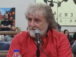 """Adrián Lomlomdjian: """"Es indispensable parar la guerra y que se imponga la paz"""""""