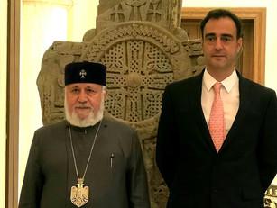 El Embajador de Argentina visitó a Karekin II