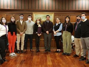 Las juventudes de la colectividad se reunieron por primera vez con el Embajador de Armenia