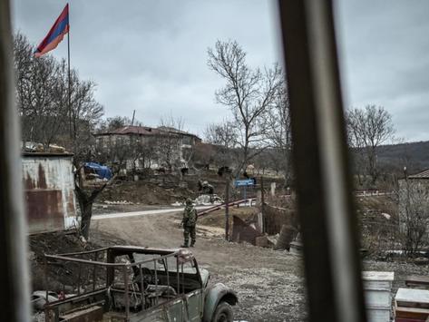 Las fuerzas azerbaiyanas bloquearon rutas en territorio soberano de Armenia