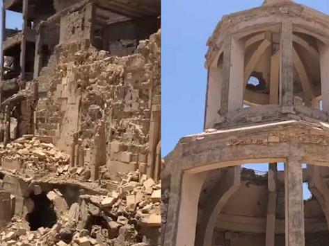 La iglesia armenia de Der Zor fue destruida