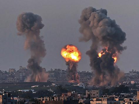 Continúan los bombardeos sobre asentamientos civiles en la Franja de Gaza