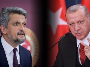 Erdogan solicitó quitarle la inmunidad parlamentaria al armenio Garo Paylan