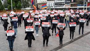 Marcha silenciosa en Latinoamérica por la liberación de los prisioneros de guerra armenios