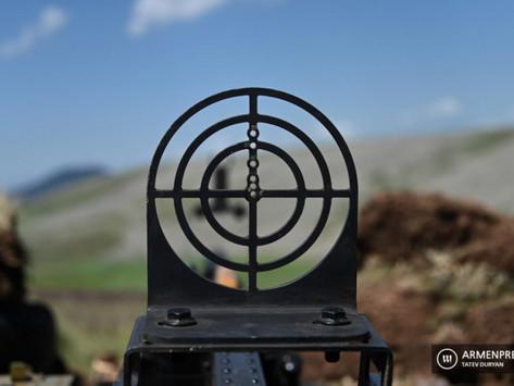 Azerbaiyán violó el alto el fuego en Artsaj