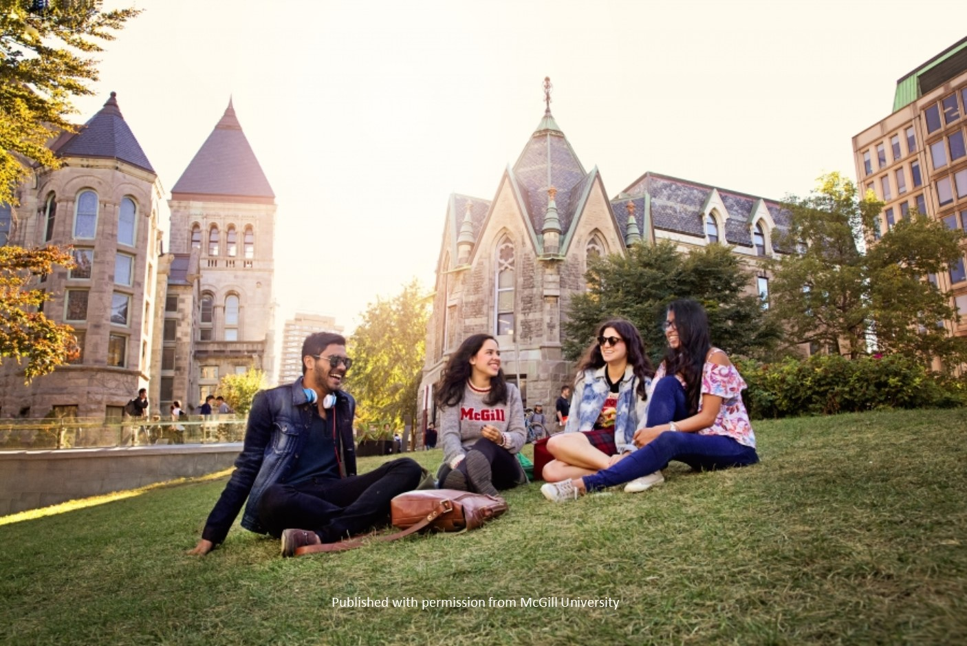 McGill University Students with permissi