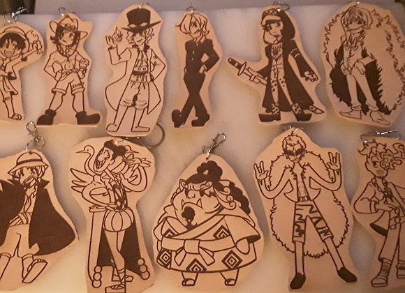One Piece Keychains