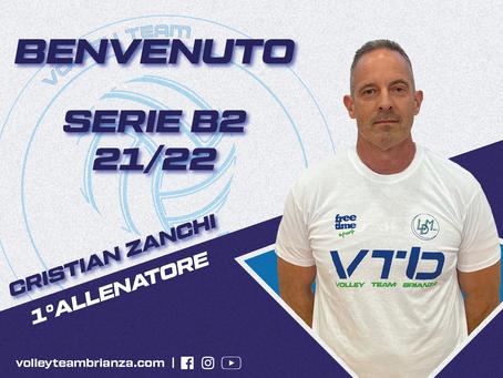 Cristian Zanchi è la nuova guida tecnica della Serie B2