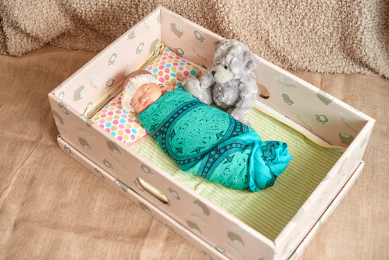 Baby Sleeping Box!