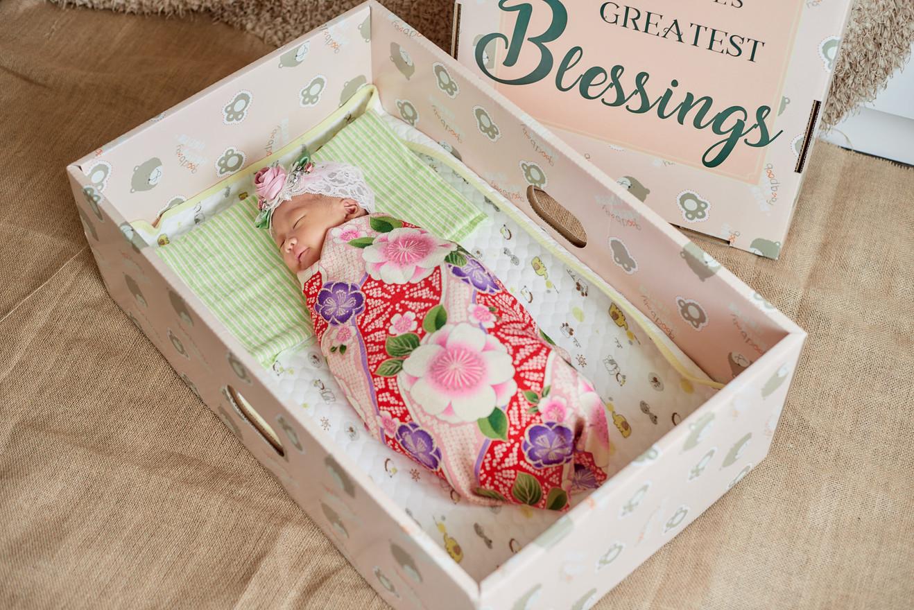 Baby Sleeping Box