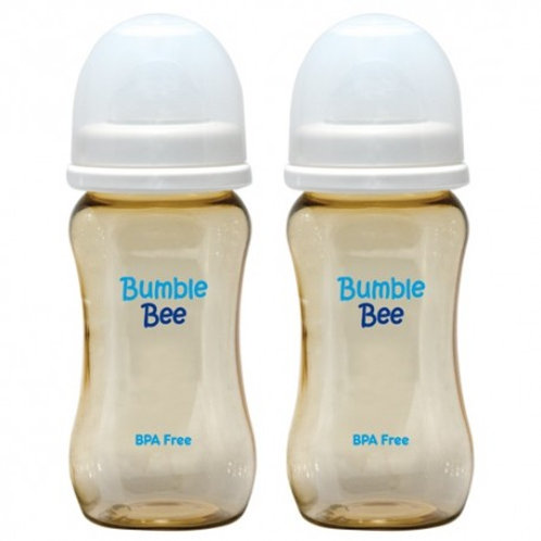 Bumble Bee 9oz PES Bottle (WE0003) Twin Pack