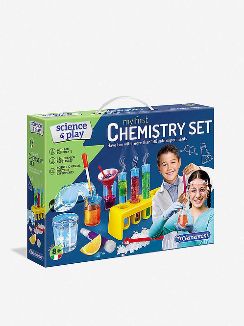 SCIENCE & PLAY My First Chemistry Set activity set