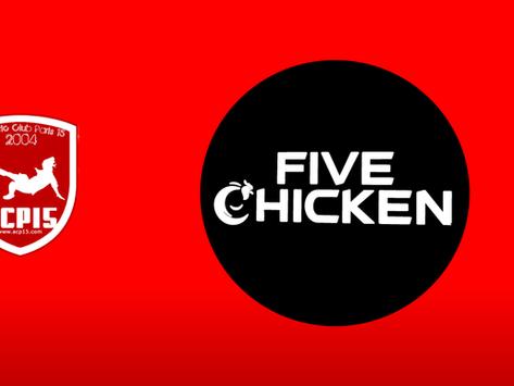 Nouveau partenaire : Five Chicken