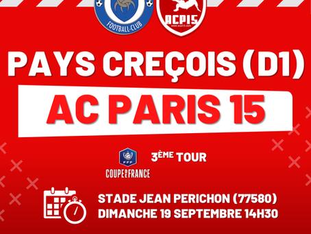 Coupe de France : tirage 3e tour