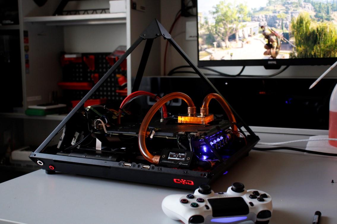 Проект Piramida PS4 pro EKWB