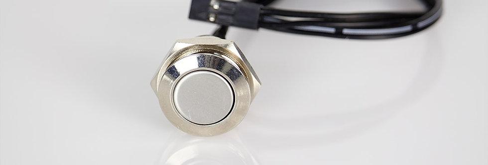 16mm Кнопка Хром