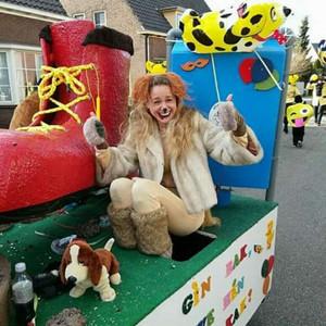 Carnaval met de hond!