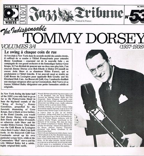 Jazz Tribune -  Tommy Dorsey 1937 - 1938