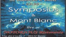 Symposius live 10 dicembre @ Notorious Restaurant ore 21:30