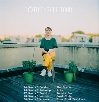 Tōth performs in the UK and Europe