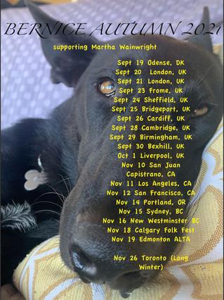 Bernice tour Europe & North America
