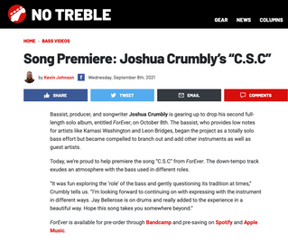 Song premiere: C.S.C. by Joshua Crumbly