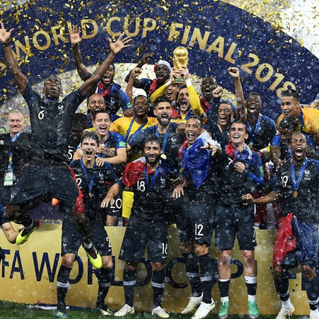 1998-2018 δύο Παγκόσμια κύπελλα η Γαλλία.