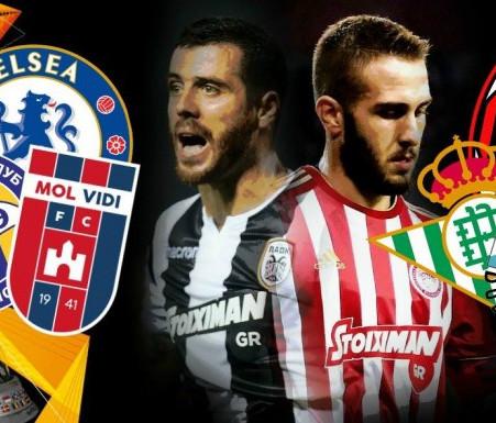 Milan & Chelsea εναντίον Ολυμπιακού και ΠΑΟΚ