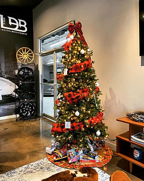 lonestar tint Christmas drive