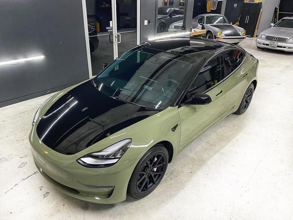 Tesla Model 3 Travis Scott Wrap