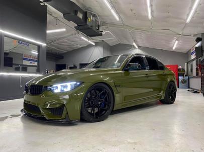 BMW M4 Vinyl Wrap