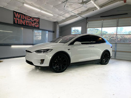 Tesla Model X  Window Tint
