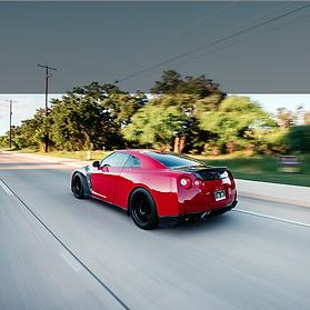 Nissan GT-R Rolling
