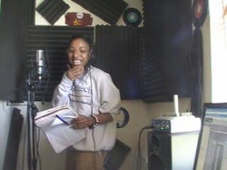Kween Kwqueen at Embassy Studios getting it in