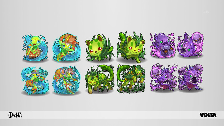 Monster Match - Characters