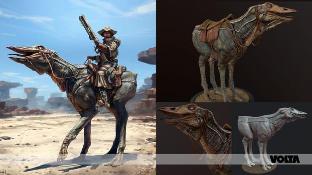 VOLTA - Sand Rider