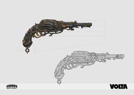 Guild Wars 2 - Black Lion Pistol