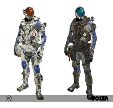 Mass Effect Andromeda - Character Concept