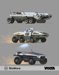 Mass Effect Andromeda - Human Land Vehicle